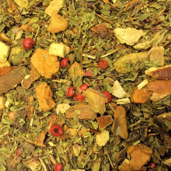 Tulsi Orange Ingwer Kräutermischung