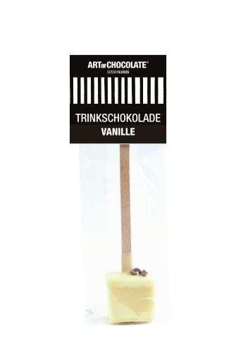 Art of Chocolate Würfel am Stiel Vanille weiße Schokolade 30g