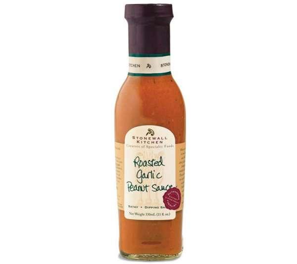 Stonewall Kitchen Roasted Garlic Peanut Sauce 330ml