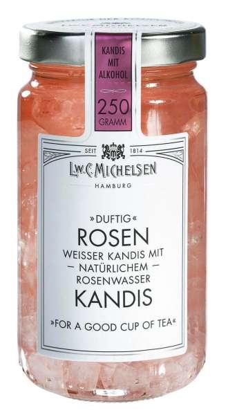 Rosen Kandis ohne Alkohol 250g