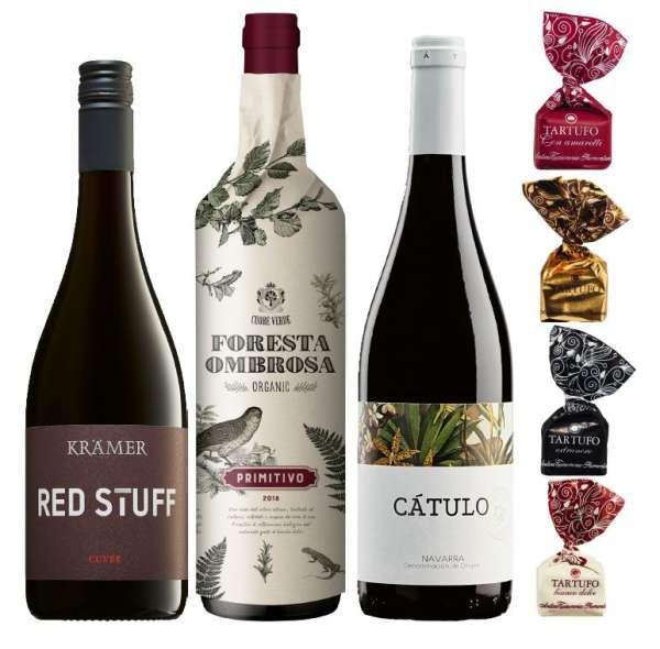 Geschenkset Weinreise durch Europa