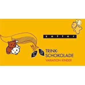 Zotter Trinkschokolade Variation Kinder 110g