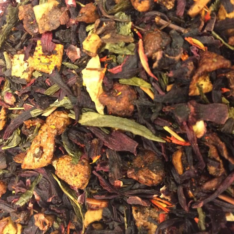 Eistee Pfirsich Schwarzer Tee