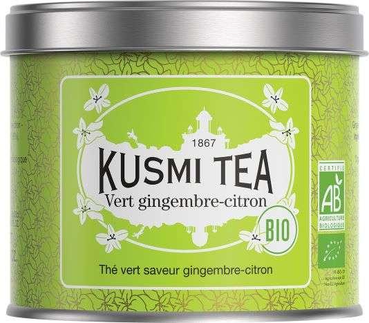 Kusmi BIO Tea Thé vert gingembre-citron (Ingwer-Zitrone)