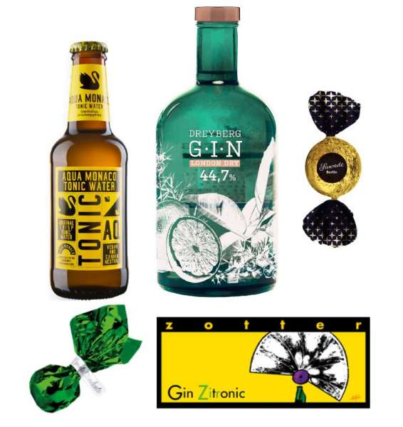 Geschenkset Gin-Genuss alkoholhaltig