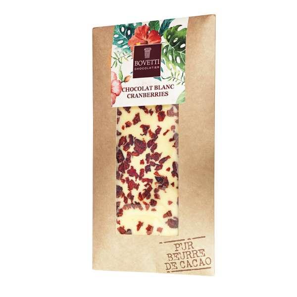 Bovetti White Chocolate Cranberry 100 g