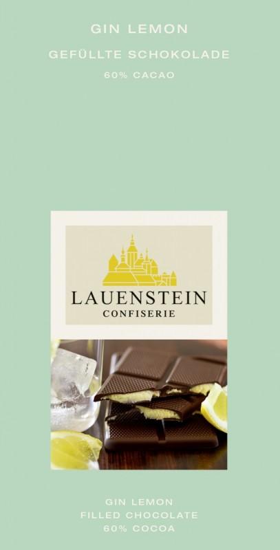 Lauenstein Gin Lemon 60% Cacao 80g