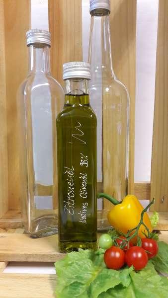 Zitronen auf Olivenöl - vegan