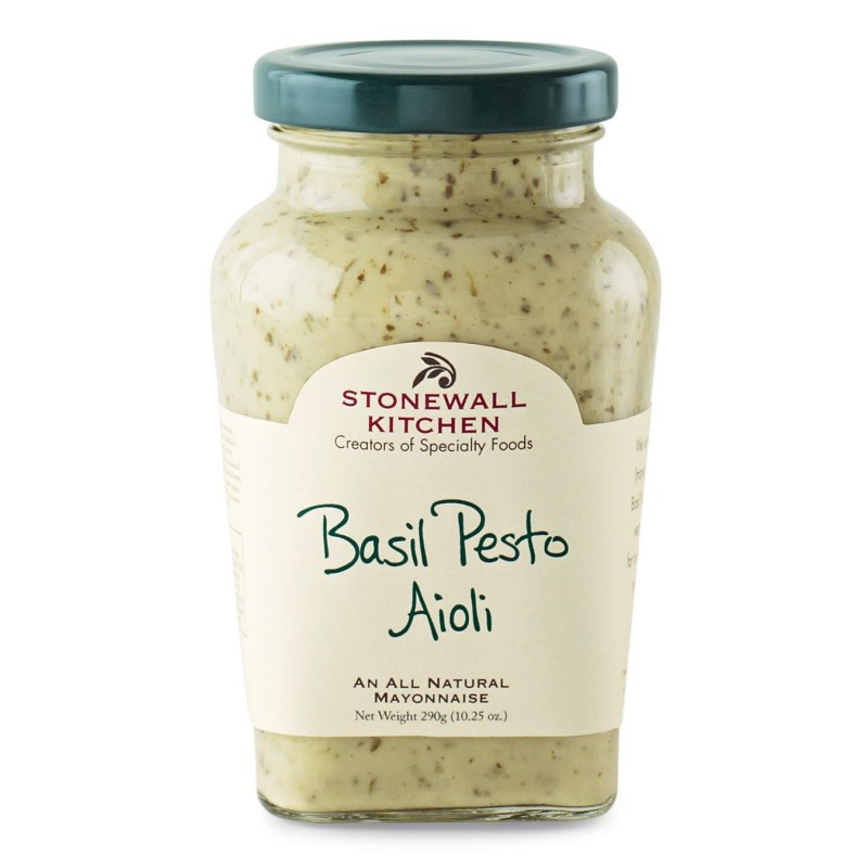 Stonewall Kitchen Basil Pesto Aioli 290g