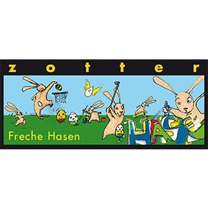 Zotter Freche Hasen - 70g