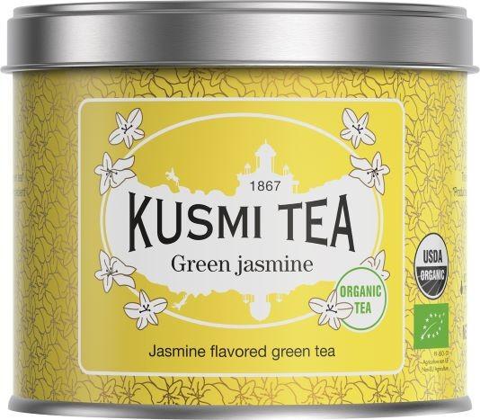 Kusmi BIO Tea Thé Vert au jasmin