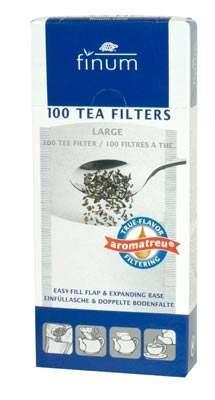 Teefilter aus Papier - Größe L bis zu 9 Tassen