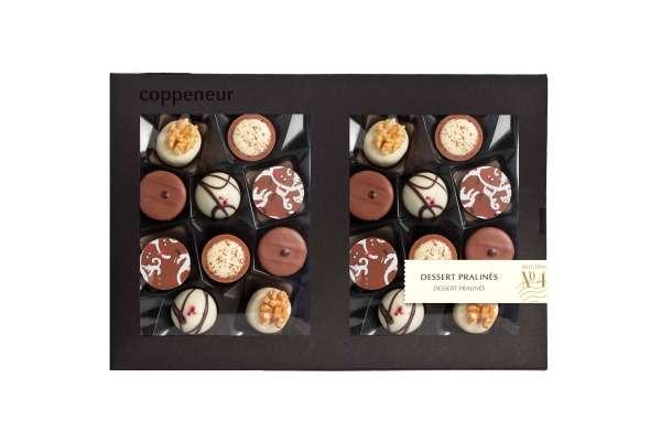 Coppeneur No 4 Dessert Pralinés 20er Selection 240g