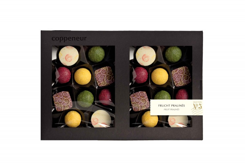 Coppeneur No 5 Frucht Pralinés 20er Selection 240g