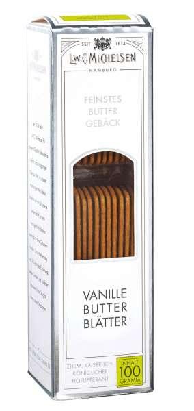 Michelsen Butter Vanille Blätter 100g