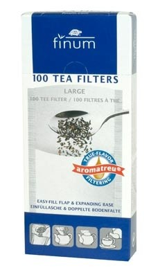 Teefilter aus Papier - Größe L bis zu 6 Tassen