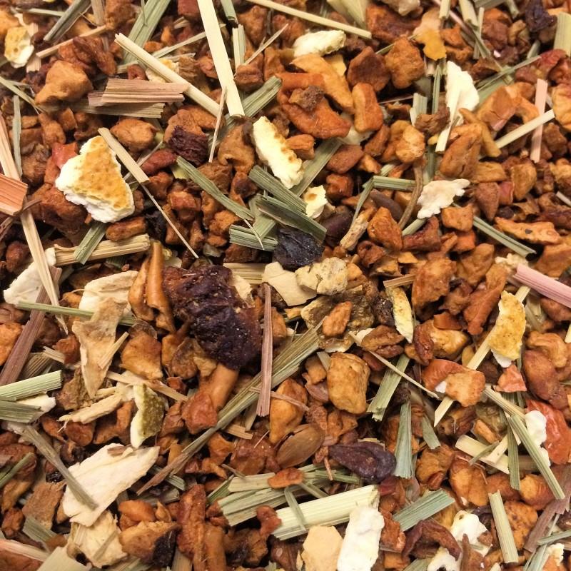 Bio Orange Ingwer Früchtemischung