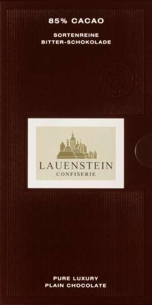 Lauenstein 85% Bitter-Schokolade 80g Vegan