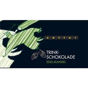 Zotter Trinkschokolade Mandel-Nougat 110g