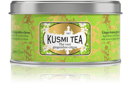 Kusmi Thé Vert gingembre-citron (Ingwer-Zitrone)