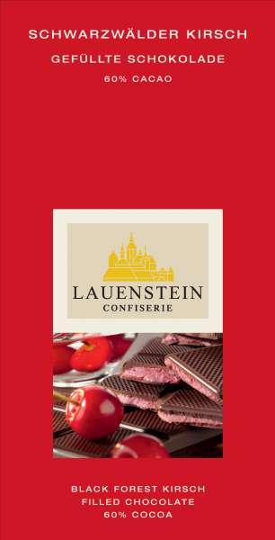 Lauenstein 60% Kakao Schwarzwälder Kirsch 80g