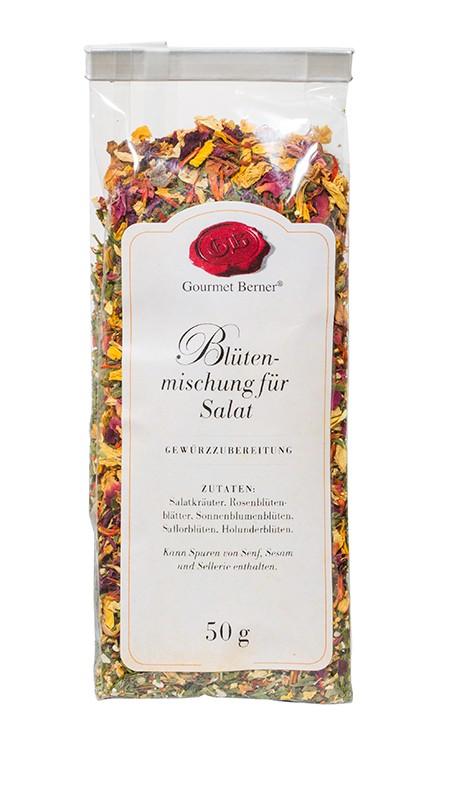 Berner`s Blütenmischung für den Salat Gewürz 50g