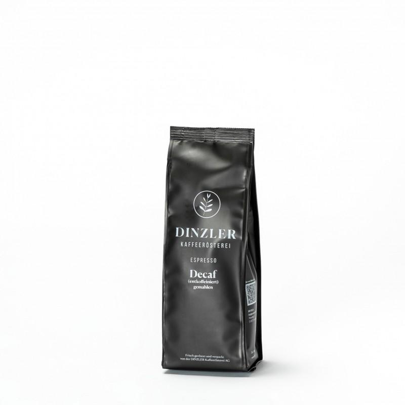 Dinzler Espresso Decaf Kaffeebohnen entkoffeiniert