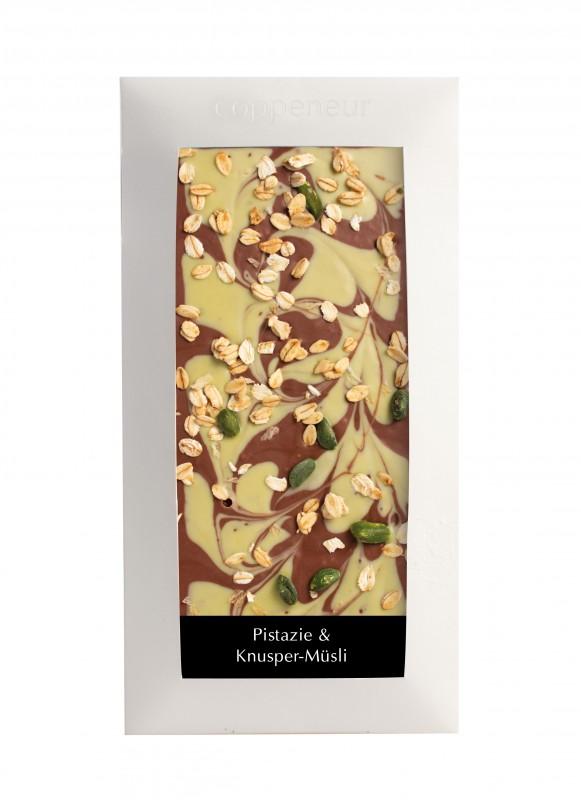 Coppeneur Cuvée Schokolade Pistazie & Knusper-Müsli 85g