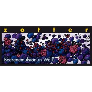 Zotter Beerenemulsion in Weiß 70g
