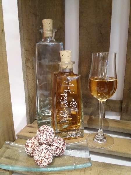 Apfel Whisky Likör