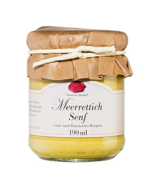 Berner`s Meerrettich-Senf (scharf) 190ml