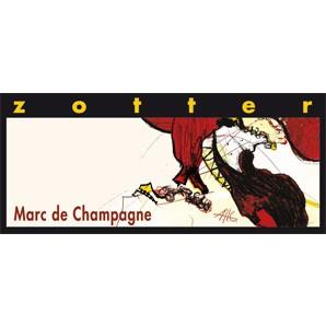 Zotter Marc de Champagne 70g alkoholhaltig