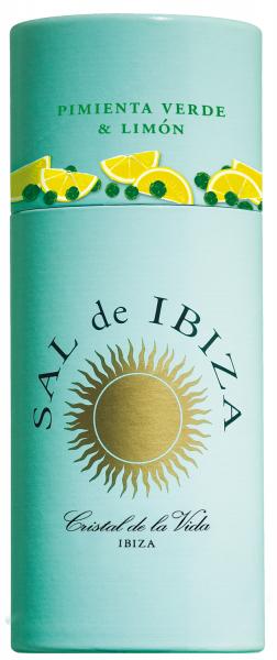 Sal de Ibiza Granito Mix Streuergrüner Pfeffer & Zitrone 85 g