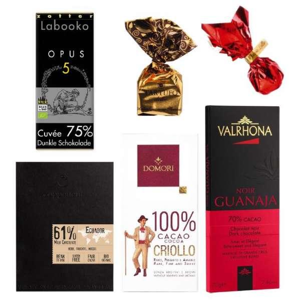 Geschenkset Dunkler Schokoladengenuss