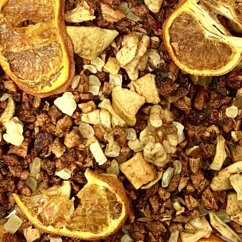 Apfel-Mandarine Früchtemischung