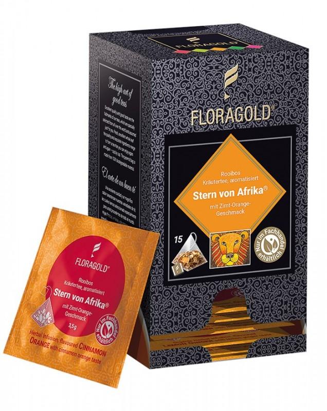 Floragold Stern von Afrika 52,5g (15 Beutel x 3,5g)