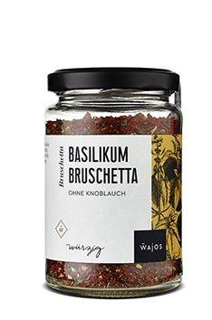 Wajos Basilikum Bruschetta ohne Knoblauch 85g - vegan