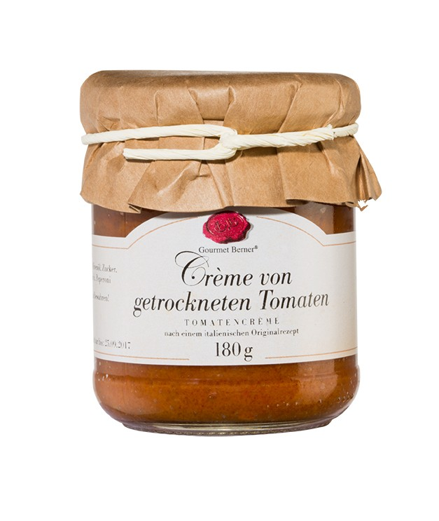 Berner`s Crème von getrockneten Tomaten 180g