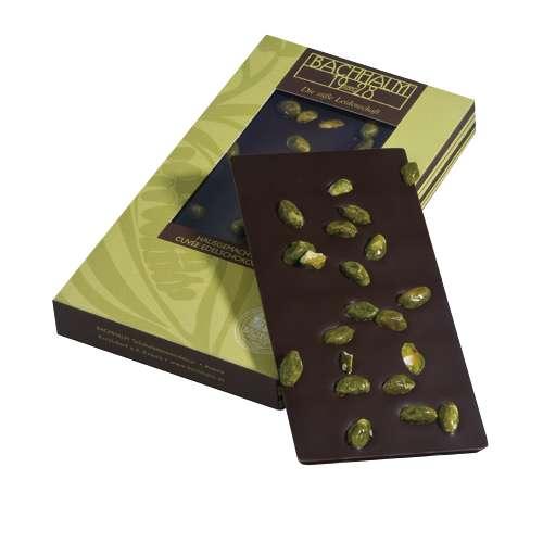 Bachhalm Pistazie Zartbitter Cuvee Edelschokolade 90g
