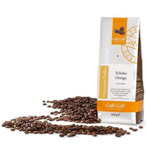 Café Cult Schoko Orange Ganze Bohne Aromabeutel 250g