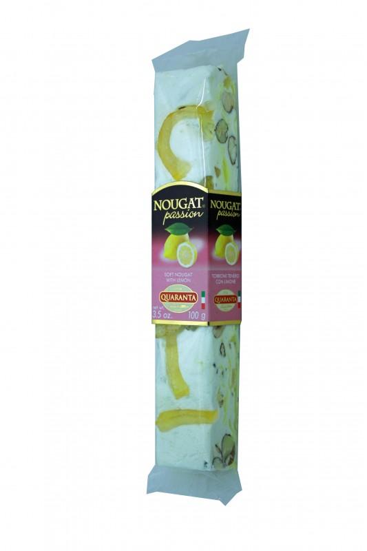 Quaranta Soft-Nougat mit Zitronen und Crème 100g