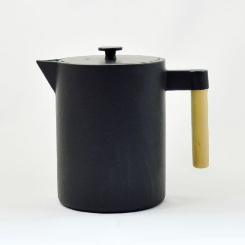 Eisenkanne Kohi 1,2l (Schwarz, Hoch und Gerade)