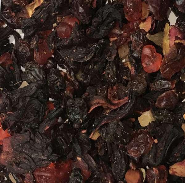 Rose Himbeer Fruchtmischung