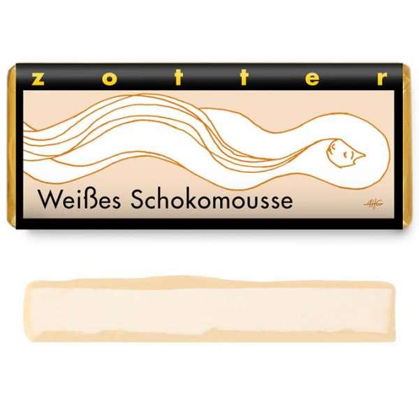 Zotter Weißes Schokomousse 70g