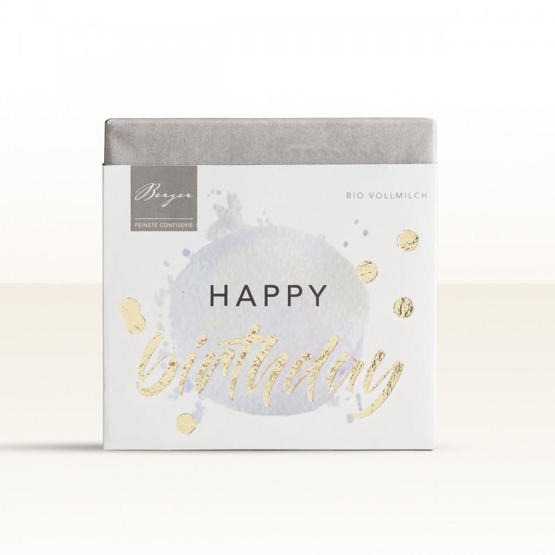 Berger Bio Vollmilch-Schokolade - Happy Birthday To You 70g