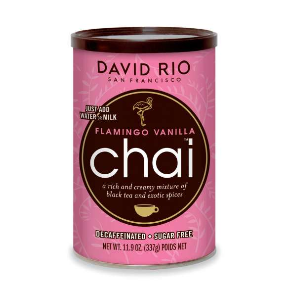 David Rio Chai Flamingo Vanilla zuckerfrei und koffeinfrei