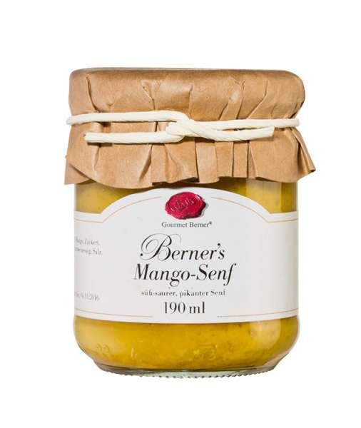 Berner's Mango Senf 190g