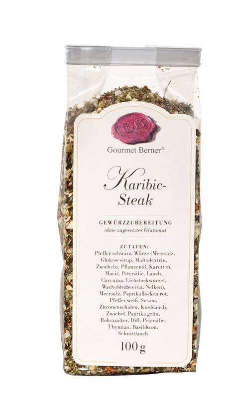 Berner`s Karibik Steak-Gewürz 100g
