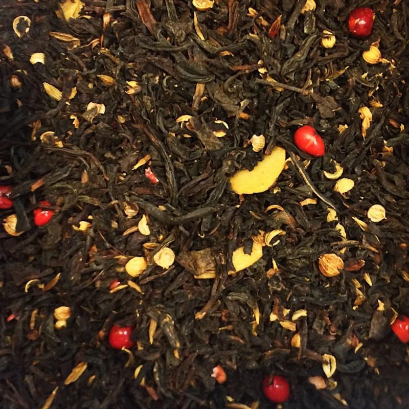Buttertrüffel Schwarzer Tee