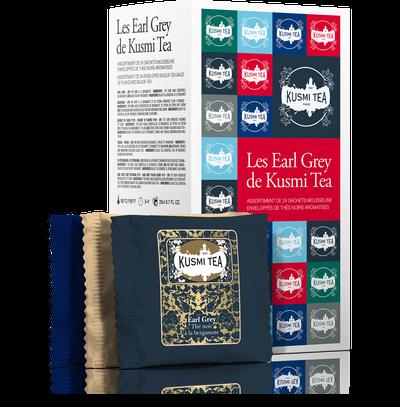 Kusmi Tea Les Earl Grey - Die Kusmi Welt in Teebeuteln 52,8g